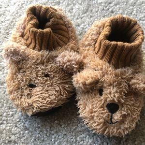 Bear slippers (toddler size 6)